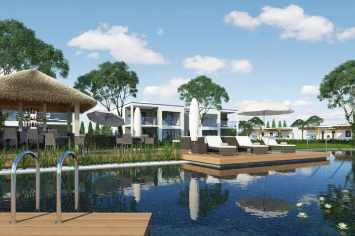 Beautiful apartments and bungalows in a modern resort Rellox